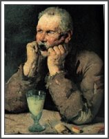 """Absinthe Drinker"" by Ihly"